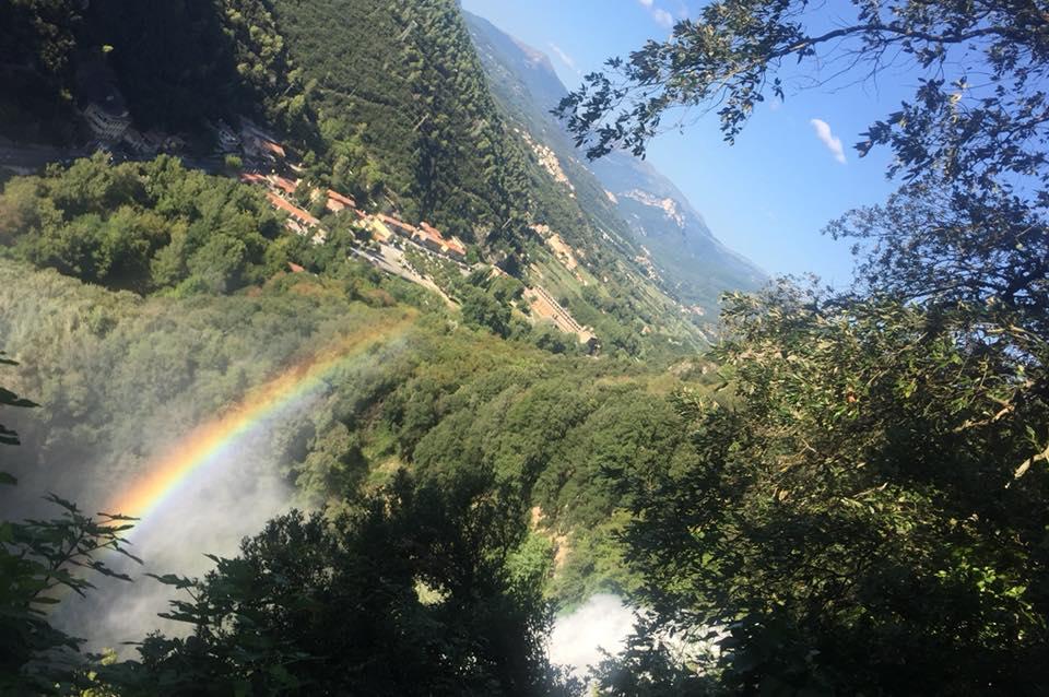 La specola e l'arcobaleno
