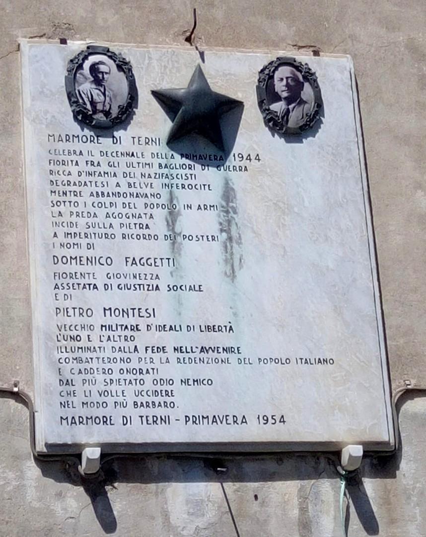 Marmore e le Pietre della Memoria